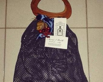 Handmade network sporty-hand bag