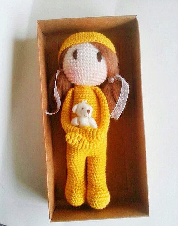 Stella the crochet doll