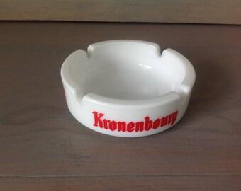 Vintage ashtray advertising Kronenbourg FRANCE