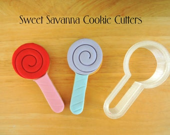 Lolly Pop Cookie Cutters
