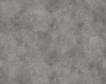 118'' Fabriquilt Grey Leather Texture Look Wide Backing by the Yard 183-264317