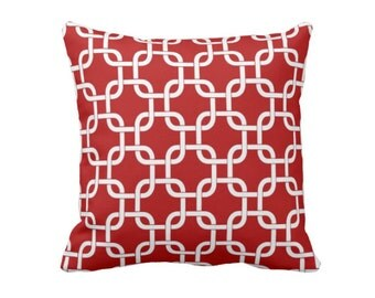 SALE | 50% OFF:  18x18 Pillow Cover Red Throw Pillow Cover Red Pillow Cover Decorative Pillow for Couch Pillows Red Accent Pillow Pillowcase