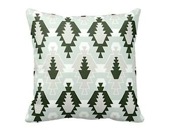 Forest Green Pillow Cover Green Throw Pillow Cover Dark Green Pillows Green Decorative Pillows for Couch Pillows Tribal Pillows Tribal Decor