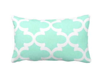 7 Sizes Available: Mint Throw Pillow Cover Mint Green Pillow Cover Decorative Pillow Cover Mint Sofa Pillow Mint Moroccan Pillow Mint Decor