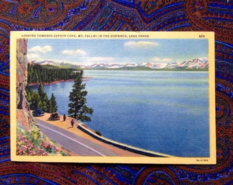 Zephyr Cove postcard
