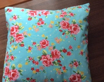 Floral cushion (similar to Cath Kidston material)