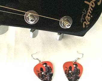 Elvis Guitar Pick Earrings