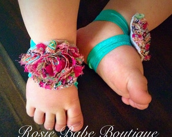 Barefoot sandals; baby barefoot sandals; pink floral sandal; toddler barefoot sandal; sandal