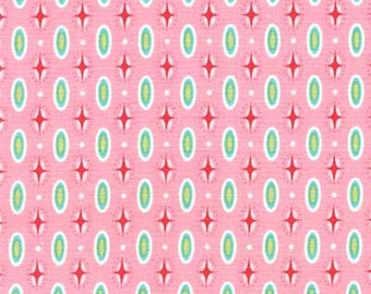 INTO THE DEEP by Patty Sloniger for Michael Miller Fabrics in Mariner Dot - Pink