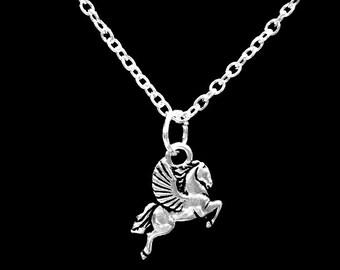 Pegasus Mythical Creature Mythology Charm Necklace