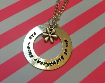 She Means Everything To Me Dodie Doddleoddle Necklace