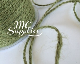 3 yards 2mm jute cord,colored jute twine,burlap twine,burlap cord,embellishment,hair bows,scrapbooking,weddings,card making,home decor,139