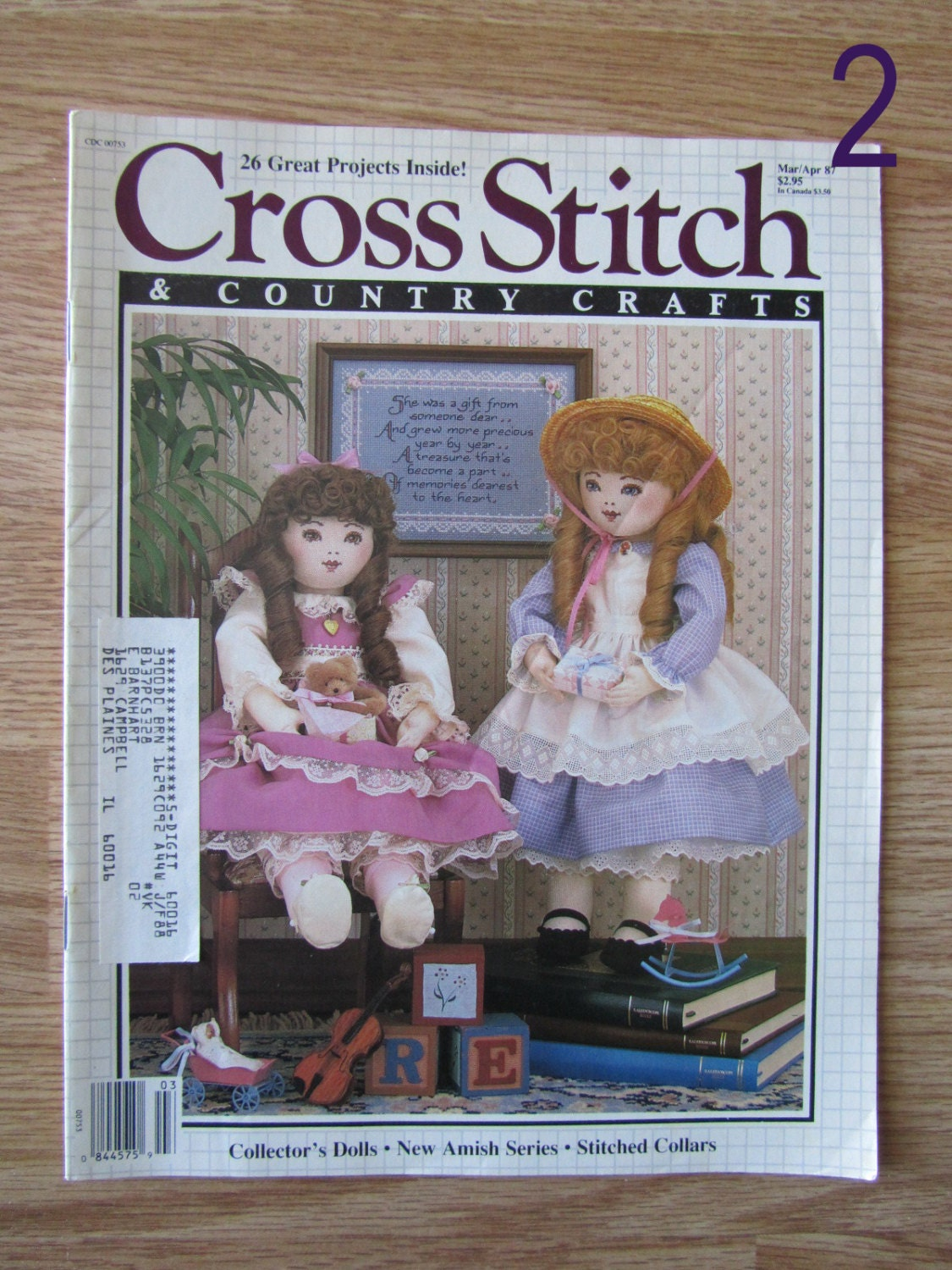 Cross stitch country crafts magazine back issues - Sold By Onceinlifetime