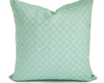 Pillow covers, Throw pillows, Couch cushions, Decorative pillows, Sea green pillow, Shams, 16x16, 18x18, 20x20, 22x22, 24x24, 26x26