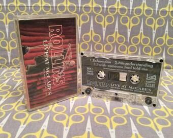 Live at McCabes by Henry Rollins Cassette Tape spoken word punk rock
