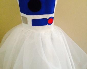 Arturoto droid inspired girl dress