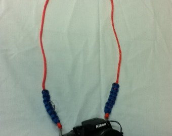 Double Point to Single Point Paracord Camera neck strap