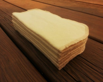 Clearance!  Set of 8 - Ivory Cloth Wipes