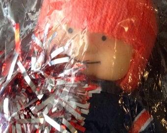 NFL huddlettes Chicago Bears Cheerleader Doll