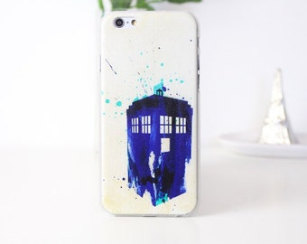 IPhone 6+ 6s PLUS Doctor Who Tardis Case