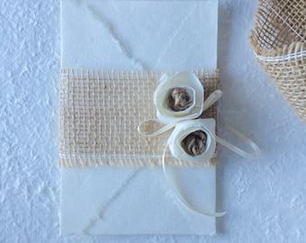 Envelope + WEDDING chiudibusta