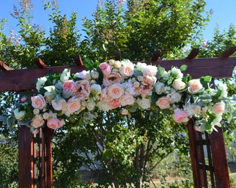 Wedding Arch, Chuppah Arch, Wedding Arch Flowers, Silk Wedding Arch Flowers, Arch Flowers, Wedding Bouquet