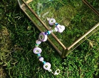 Purple Pop Bracelet