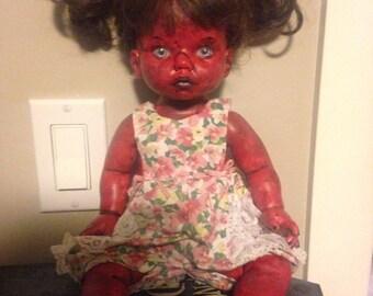 OOAK Demon Baby Doll