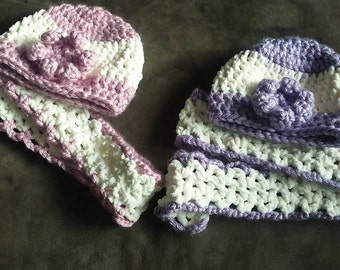 Chunky hats and scarves!