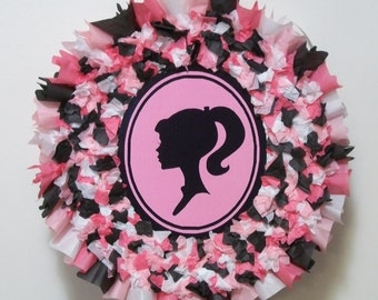 Barbie Silhouette Pull String or Hit Pinata