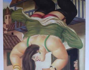 Fernando Botero Angulo -  Lithograph Art Print