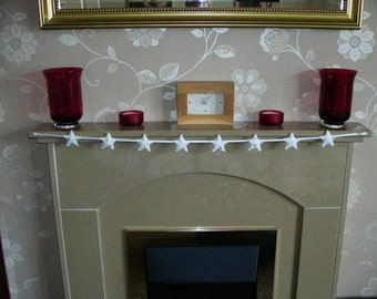 Star garland, christmas garland