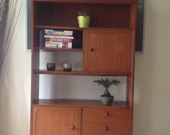 Mid-Century wall unit/bookcase