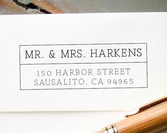 Selfinking Return Address Stamp, Personalized Stamp, Custom Rubber Stamp, Custom Stamp, Pre-Inked Address Stamp, Housewarming Gift