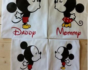Disney #22 - Disney Cute Mickey Minnie Family Shirts
