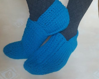Knitted Slippers Women Girl Union cloth  Slippers Warm Gift Cozy socks House shoes Very nice and warm Ready to ship Gift for HER