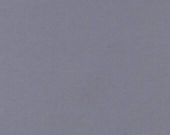 KONA Medium Grey Gray Solid Fabric Robert Kaufman by the yard 100% Cotton Quilt Shop Quality