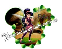 Disney Cruise Door Decoration Magnet - Vidia Fairy