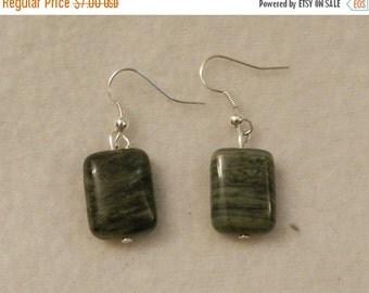 Valentine Sale Green Gemstone Earrings  V1
