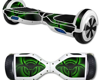 Skin Decal Wrap for Self Balancing Scooter Hoverboard unicycle Bio Glow