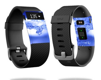 Skin Decal Wrap for Fitbit Blaze, Charge, Charge HR, Surge Watch cover sticker Water Explosion