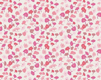 Pink Fabric by the Yard - Modern quilt fabric - Delicate Femme Blush - Art Gallery Fabric - Essentials II - Pink Fat Quarter Bundle