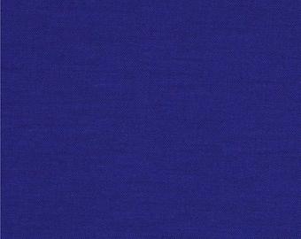 Kona 60 Deep Blue from Robert Kaufman Fabrics