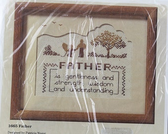 Father is . . .  Counted Cross Stitch Kit, K196