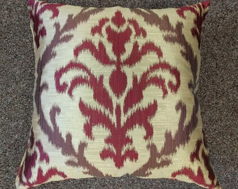 """Custom Maded Decorative Throw Pillow """"Flower"""", 12 Sizes Available, Throw Zipper Pillow"""