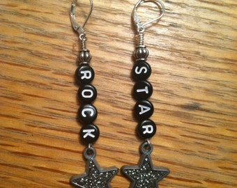 Rock Star earrings