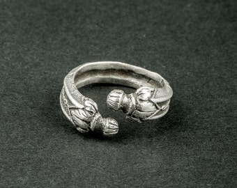 """You and me"" ring / Love / (joint ring for couple in money)"