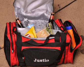 Personalized 2-in-1 Cooler Duffle - Cooler - Lunch Box - 2-in-1 Cooler - Ballpark Cooler