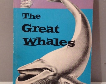 Vintage 1951 Great Whales Book
