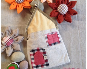 House bag 2 - handmade by PatateMaison-Kids-Gift-lovely sweet home